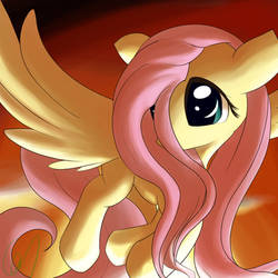 Flutterponi and red