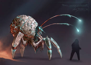 Rhovia - unnamed crustacean #2 by axelbockhorn