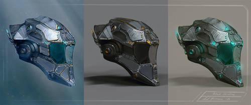 Helmet concepts by axelbockhorn