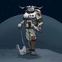 Space viking by axelbockhorn