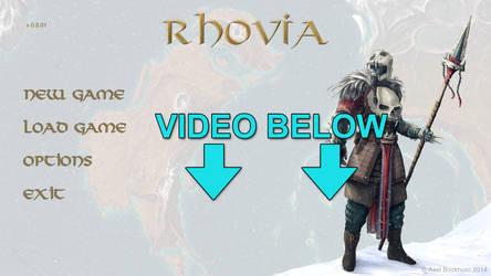 Rhovia - Main Menu - animation/music test by axelbockhorn