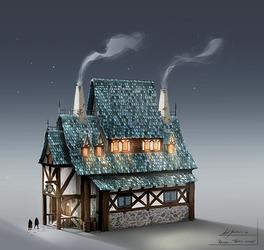 Rhovia - Tavern by axelbockhorn