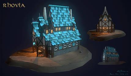 Rhovia - Tavern (realtime model) by axelbockhorn