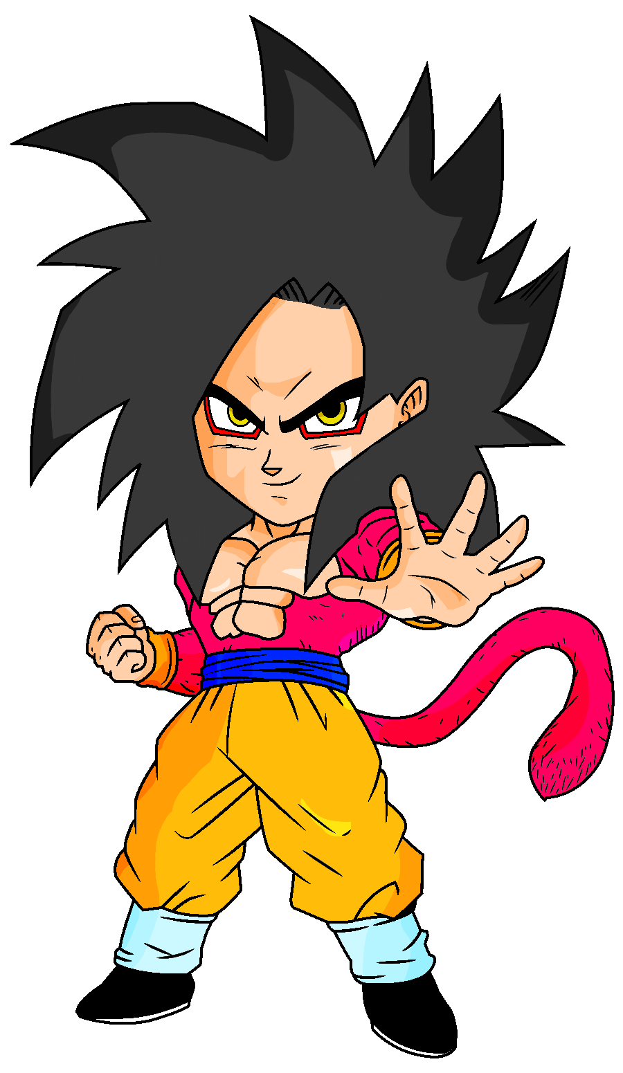 How To Draw Super Saiyan 6 Goku | Apps Directories