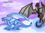 Darstalker and Arctic by ShadowClawEclipse