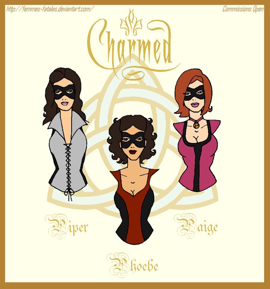 Request Prize Charmed Superheroines By Femmes Fatales On Deviantart