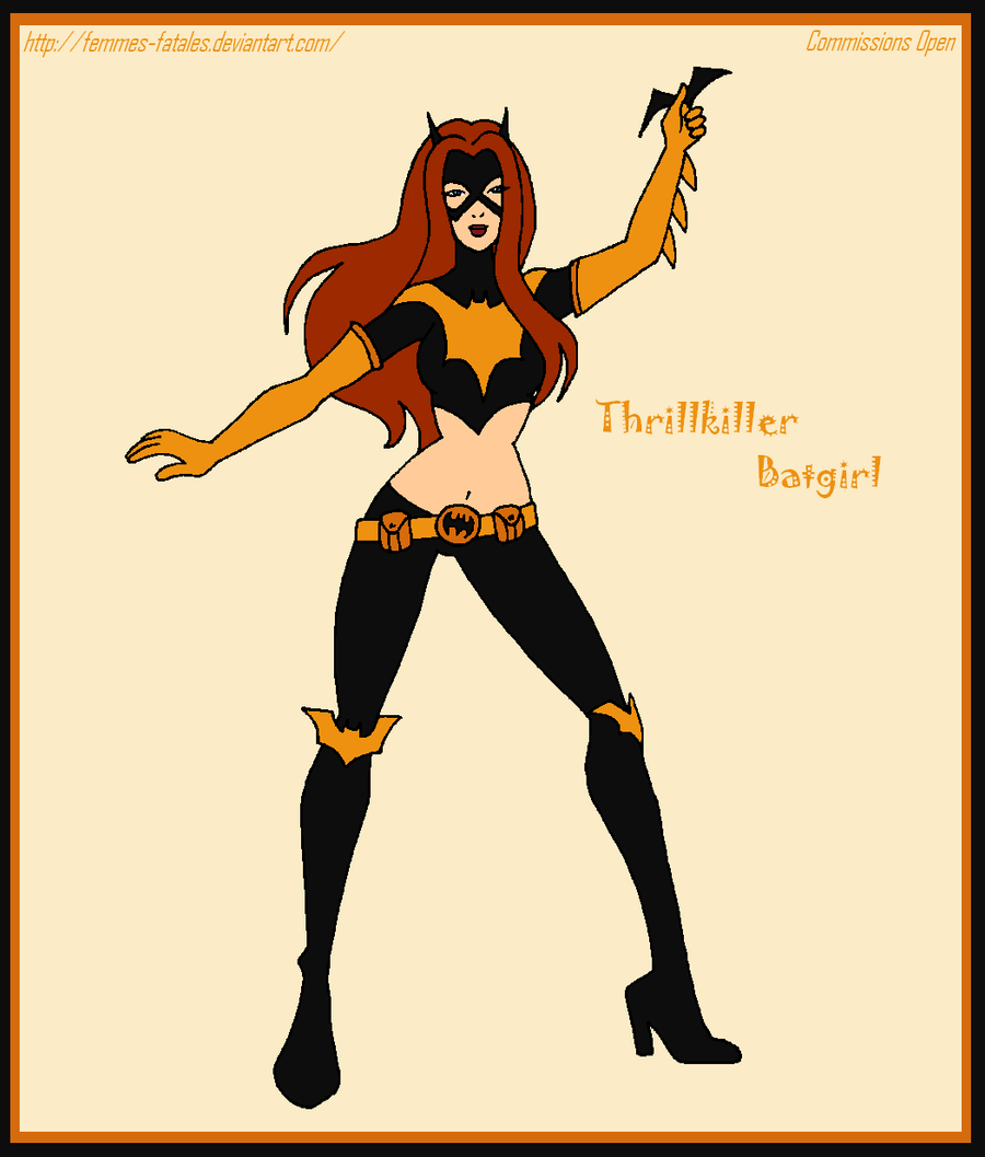 Commission - Thrillkiller Batgirl by Femmes-Fatales