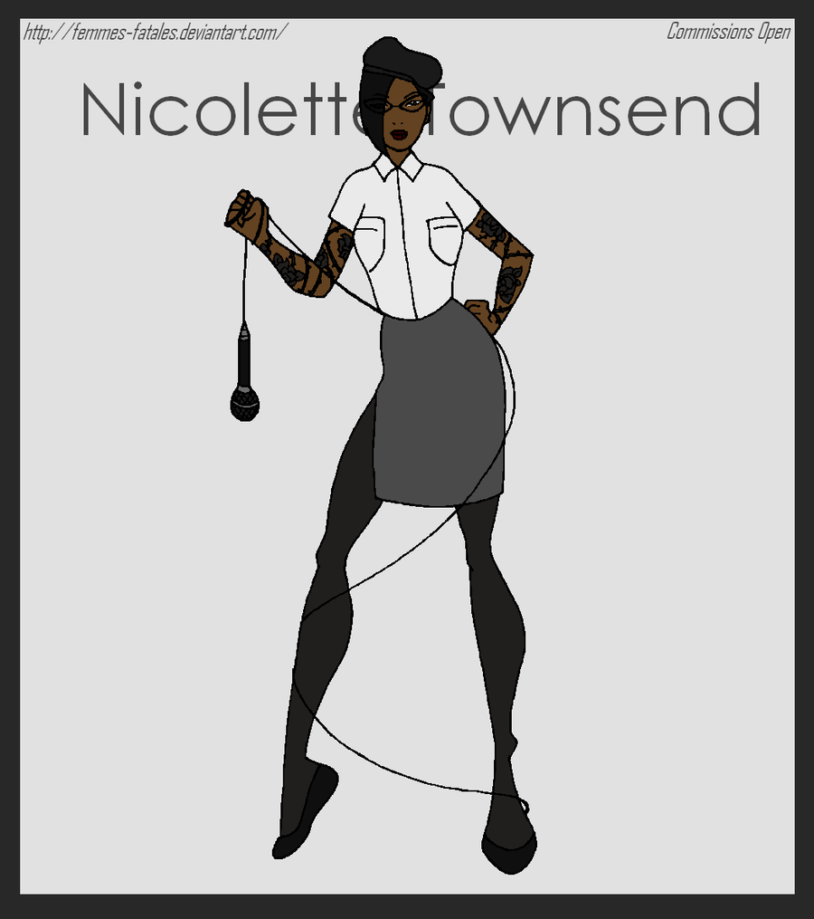 Commission - Nicolette Townsend by Femmes-Fatales