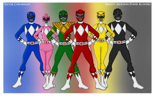 Mighty Morphin Power Rangers by Femmes-Fatales