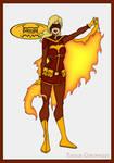 Batgirl Inc - Flamebird by Femmes-Fatales