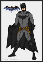 Justice League - Batman Redesign by Femmes-Fatales