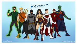 My DCU - Justice League Redesigned Redux