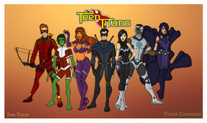 My DC Universe - Teen Titans Redesigned