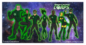 My DC Universe - Green Lantern Corps Redesigned