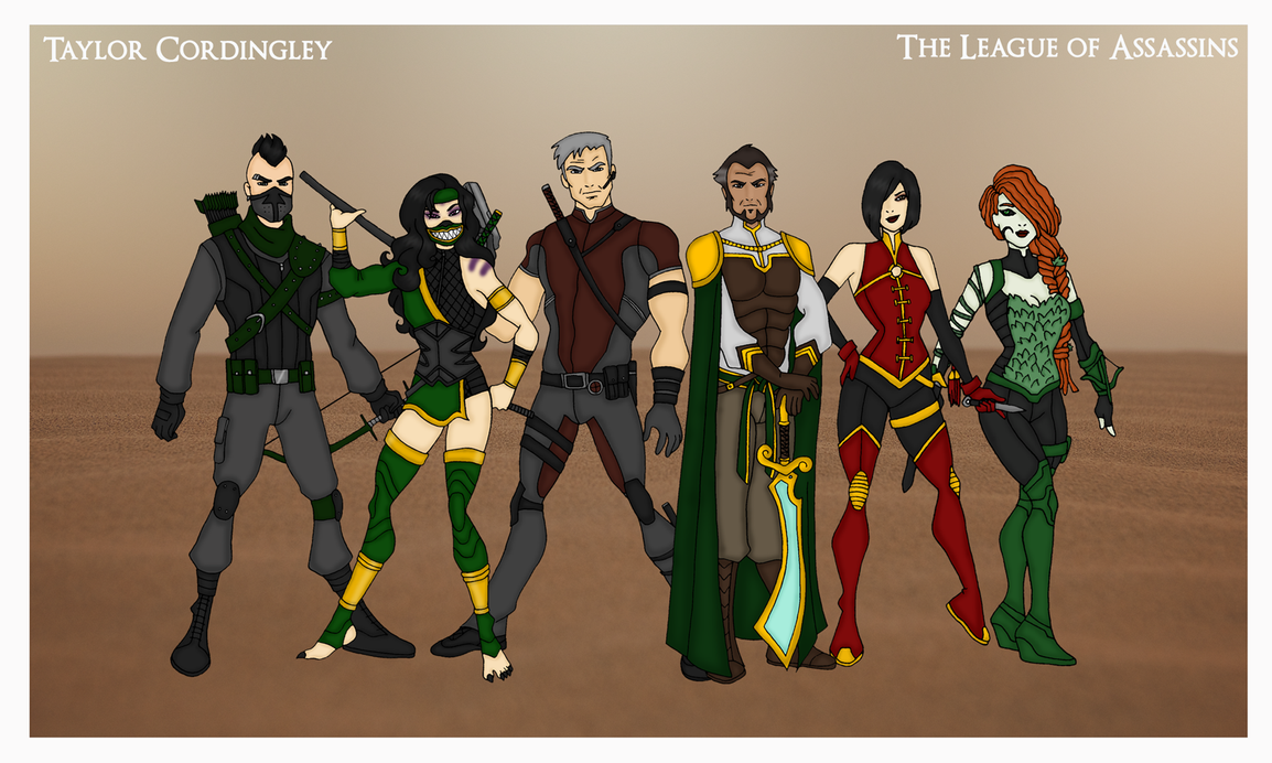 My DCU - League of Assassins Redesigned by Femmes-Fatales