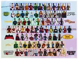 My DC Universe Teams Redesigns