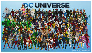 My DC Universe - Complete Redesign Collection