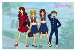 Sailor Moon - Juuban Junior High