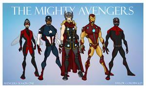 Avengers Season One Redesigns