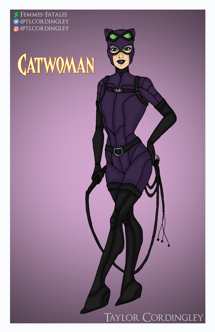 Catwoman Redesign by Femmes-Fatales