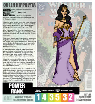 Wonder Woman TAS - Hippolyta Redesign Profile by Femmes-Fatales