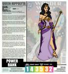 Wonder Woman TAS - Hippolyta Redesign Profile