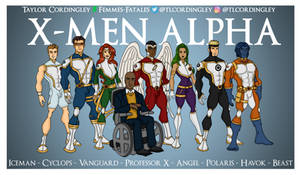X-Men Alpha Team Redesigns
