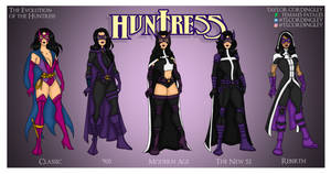 The Evolution of the Huntress