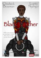 Black Panther Homage Poster by Femmes-Fatales