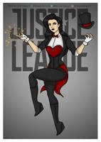 Justice League - Zatanna Redesigned by Femmes-Fatales