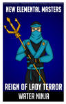 Commission - Water Ninja Poster
