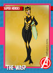 Avengers - The Wasp 2K21 Revamp by Femmes-Fatales