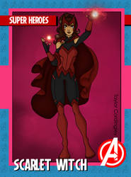 Avengers - Scarlet Witch 2K21 Revamp by Femmes-Fatales