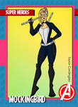 Avengers - Mockingbird 2K21 Redesign by Femmes-Fatales