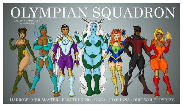 Olympian Squadron - The Founders (OCs)
