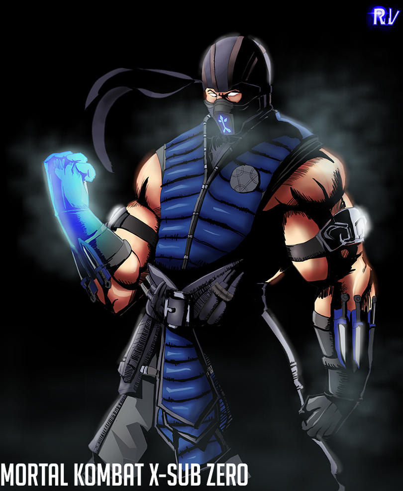 Mortal Kombat X Sub Zero Deviantart Mortal Kombat X-Sub Ze...