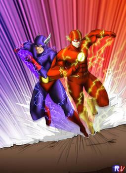 The Flash and Gundala