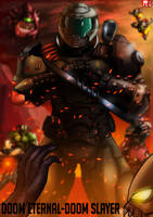 DOOM Eternal-Doom Slayer by RuVKun
