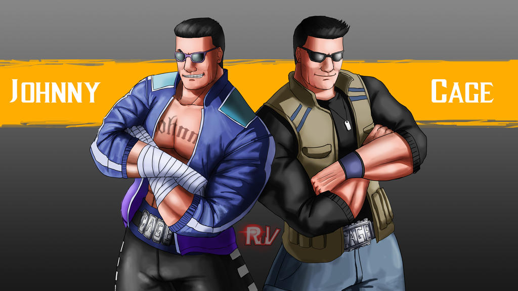 Double Johnny Cage MK11 By RuVKun On DeviantArt