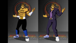 Johnny Cage: MK9 (MKLScorpion Revenge style) A