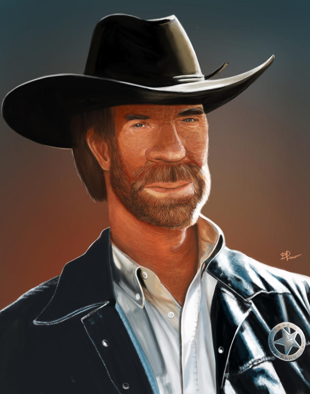 Chuck Norris by BrunoSousa