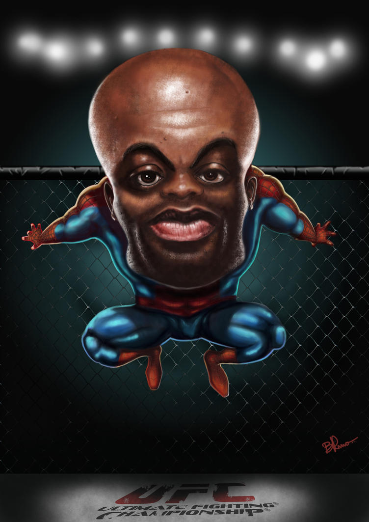 Anderson Spider Silva by BrunoSousa