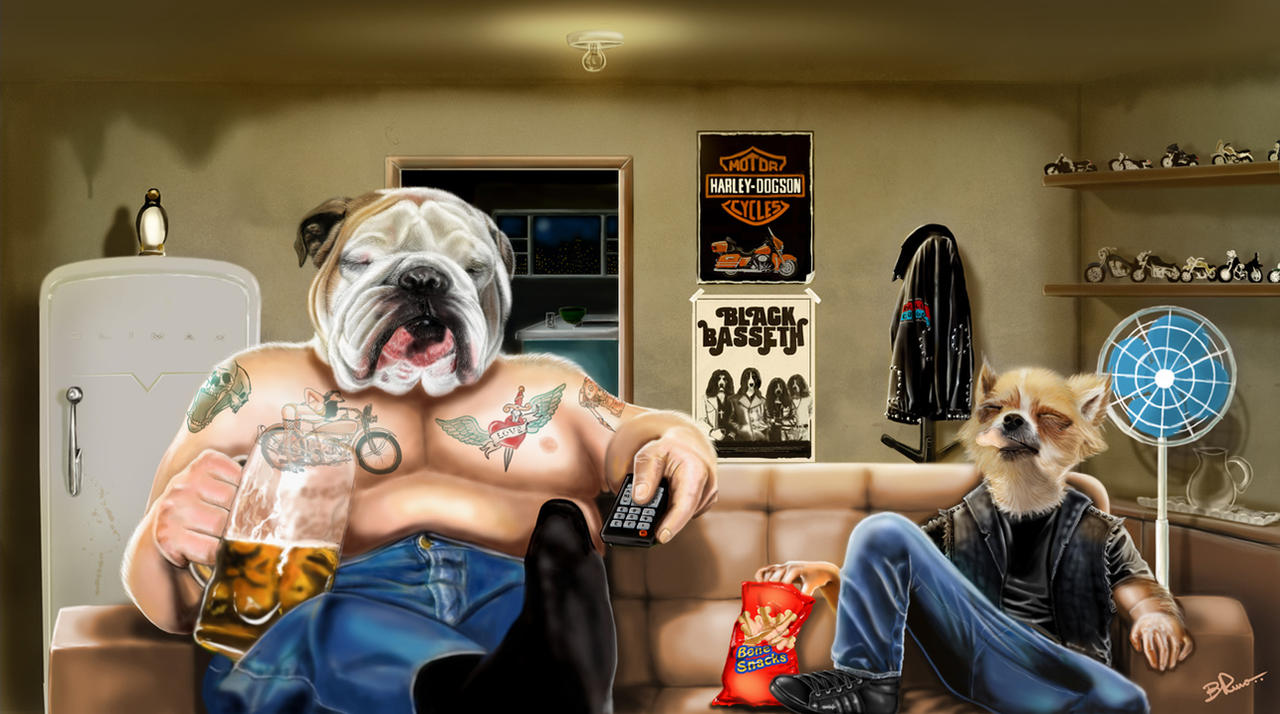 Dog Life! by BrunoSousa