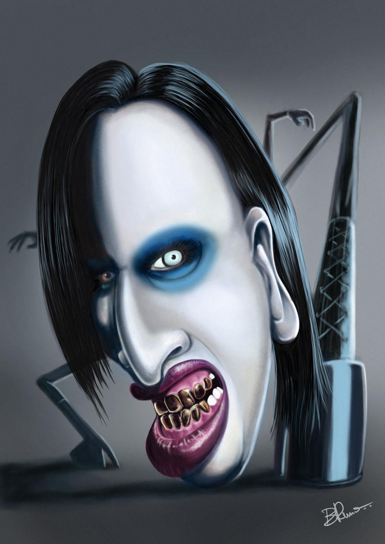 M Manson by BrunoSousa