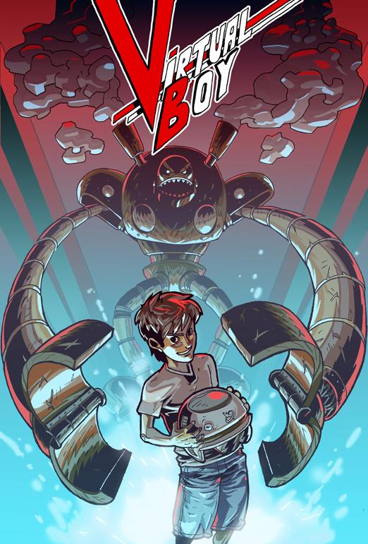 Virtual Boy by zsabreuser