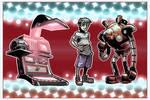 Virtual Boy - Designs and Anim