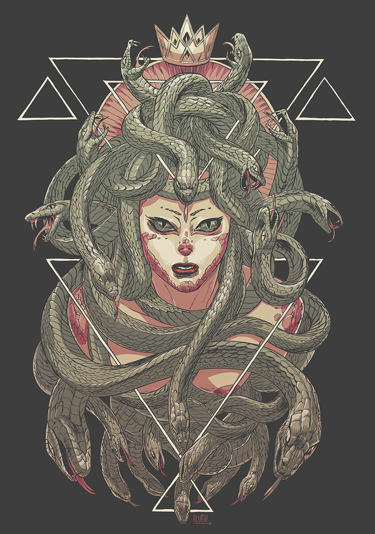 Gorgon Queen by zsabreuser