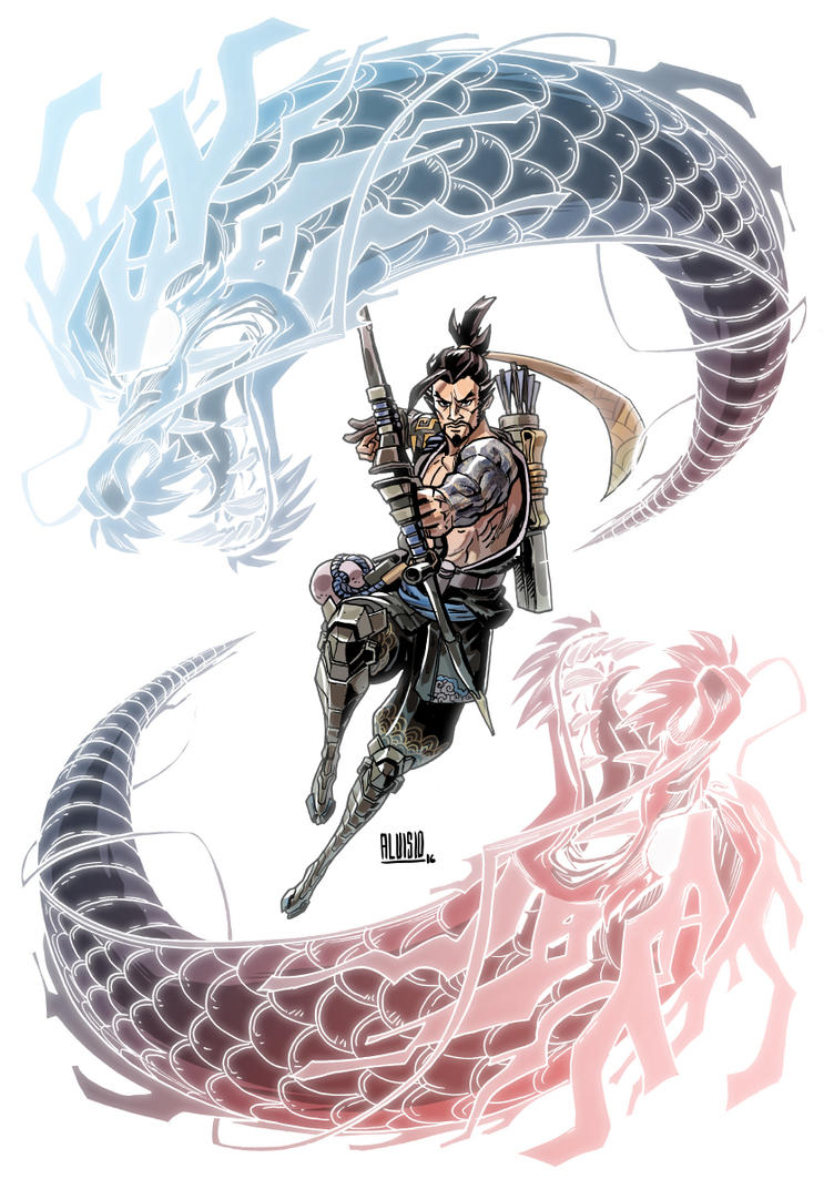 Overwatch - Hanzo by zsabreuser