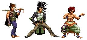 Sharp Haired Men Pixel by zsabreuser