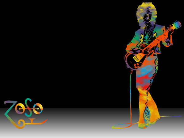 Jimmy Page Wallpaper Black By Zsabreuser